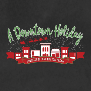 A Downtown Holiday Logo