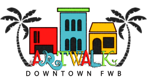 DowntownFWB_ArtWalk Logo